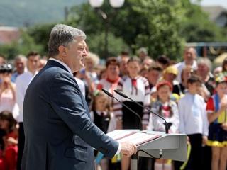 Порошенко пообещал школьникам, что они будут жить в Европейском Союзе