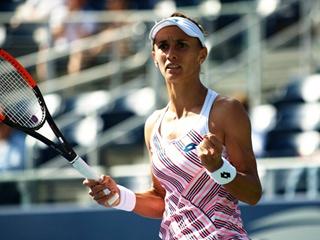 Украинка Леся Цуренко впервые в карьере вышла в четвертьфинал US Open!