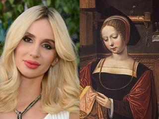 Двойники знаменитостей на картинах: LOBODA - Мария Магдалена, а Тина Кароль - монахиня