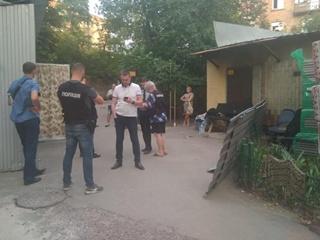 В Киеве обстреляли охрану рынка