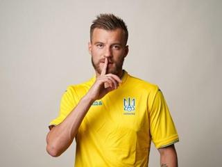 На форме сборной Украины появилась надпись  Слава Украине