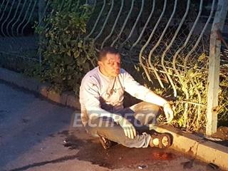 В Киеве пьяный водитель сбил женщину и уснул в кустах