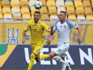 Украина обыграла сборную Словакии в Лиге Наций