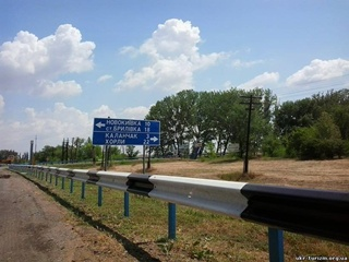 Жители села Каланчак - из зоны химического поражения:  У нас индикатор огурчики. Зеленые – можно жить