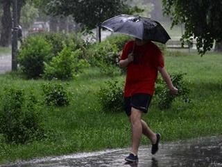 Сегодня днем, 12 сентября, дождь пройдет на юге