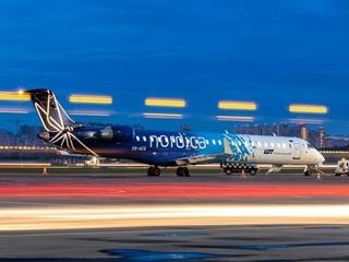 Эстонская авиакомпания Nordica на зиму приостановила полеты из Киева в Таллин