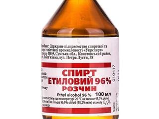 В Украине временно запретили продавать этиловый спирт и настойку эвкалипта