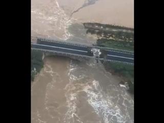 В Италии снова рухнул мост