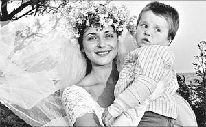 Анна снаткина с ее ребенком 3