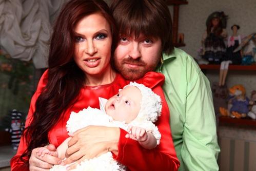 Русская мама и сын даун
