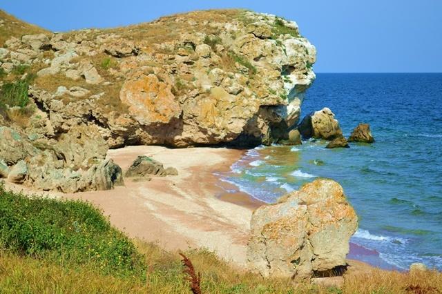 прохождение крым дикие пляжи фото Целью