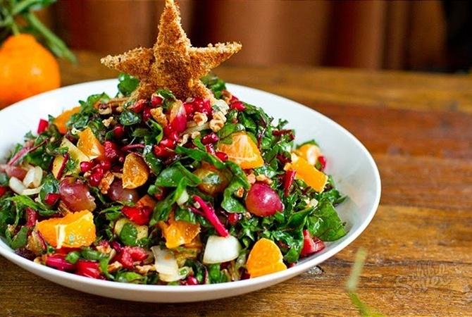 Рецепты вкусных недорогих салатов на новый год