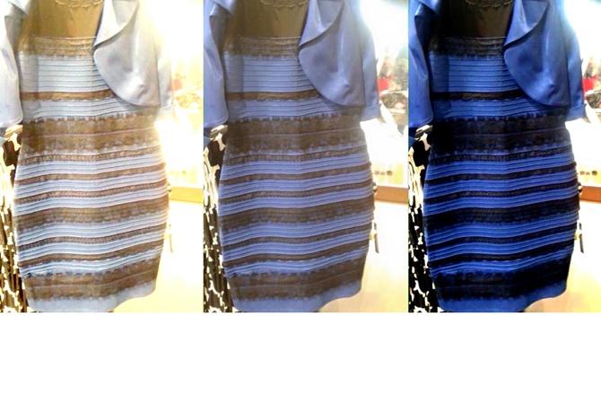 Фото с обманом зрения платье