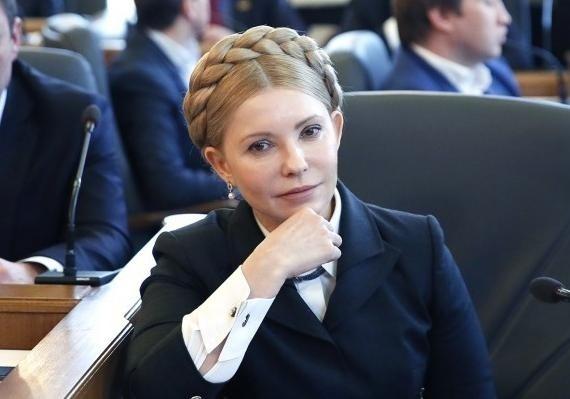 Тимошенко в платье 55