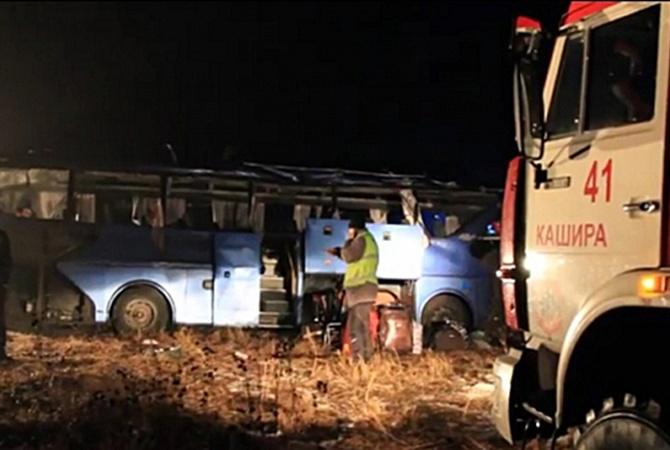 авария автобуса в воронежской области