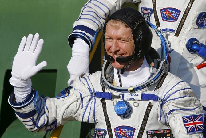 На Международную космическую станцию доставили первого британского астронавта                       Тим Пик- первый