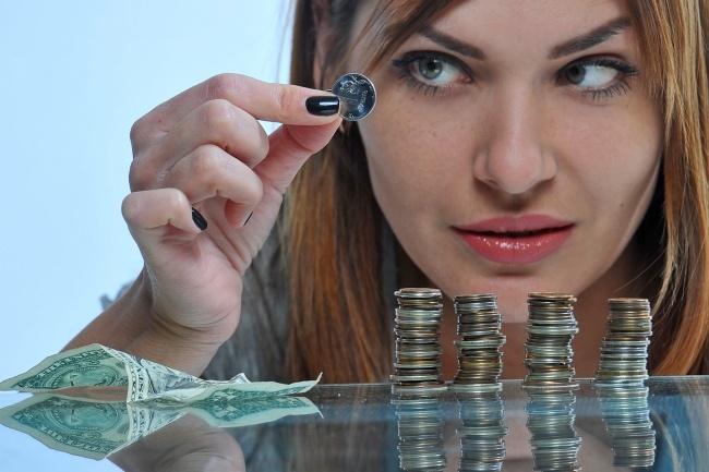 После падения цены на нефть российский рубль опустился до 78 за доллар Фото Евгения Гусева