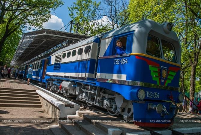 Схема детского поезда