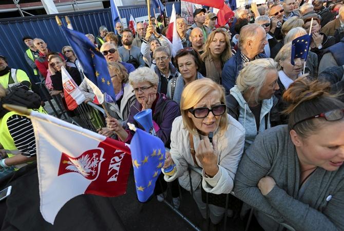 Частное фото польских женщин