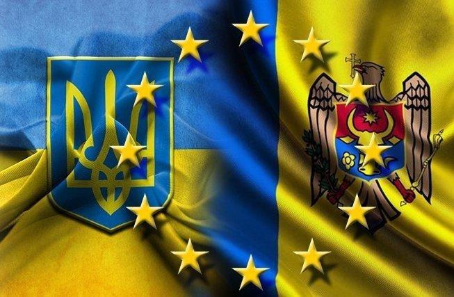 «Мынамерены резко активизировать сотрудничество между Украинским государством иМолдовой»,— Порошенко
