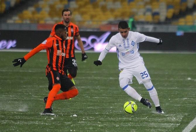 'Динамо-'Шахтер семь голов драка и две красные карточки'Динамо потерпело домашнее поражение