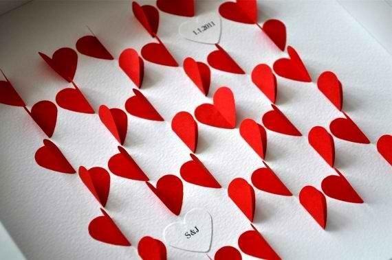 Открытки любовная своими руками