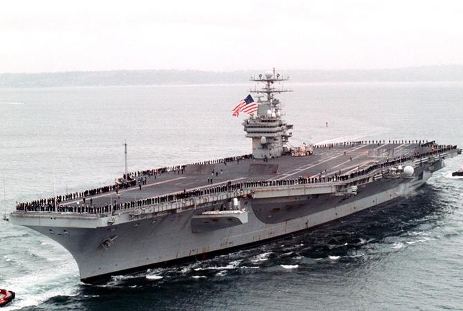 Трамп отправил флот к берегам Северной Кореи