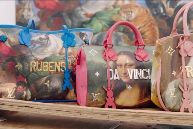 e38babf0ebd8 Louis Vuitton презентовал коллекцию сумок в Лувре - Новости на KP.UA