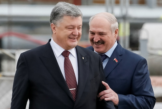 Lukashenka and Poroshenko. Source: kp.ua