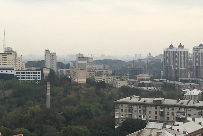 ВКиеве снова ощущается запах гари— власти это никак некомментируют