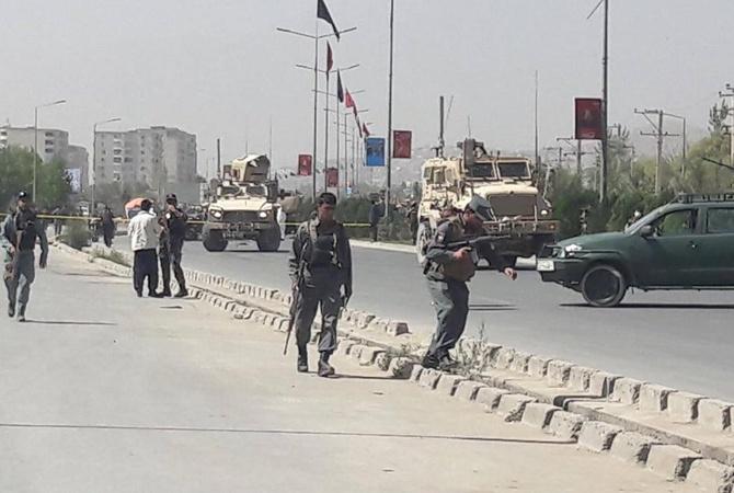 ВАфганистане террорист-смертник атаковал конвой НАТО