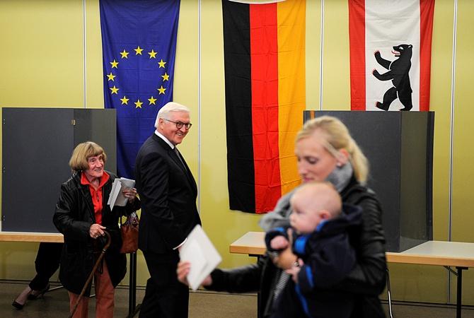 Выборы вГермании: докладывают овысокой явке избирателей