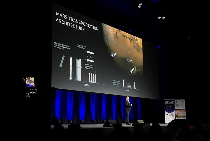 Маск решил использовать межпланетную ракету для перелетов между странами