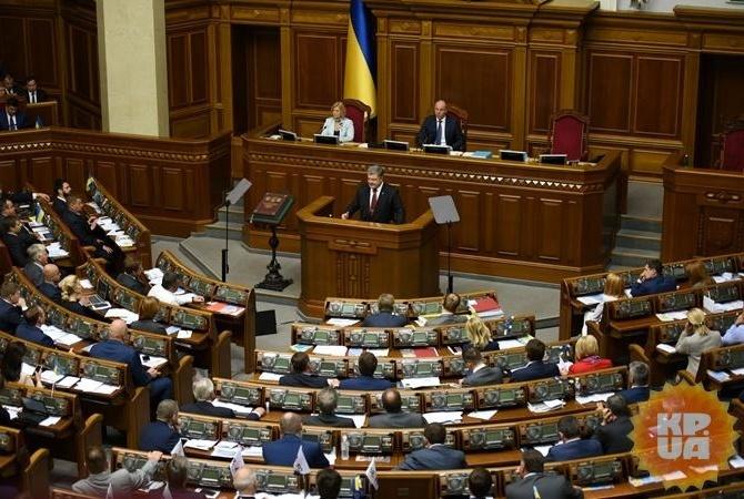 Верховная рада приняла закон опенсионной реформе