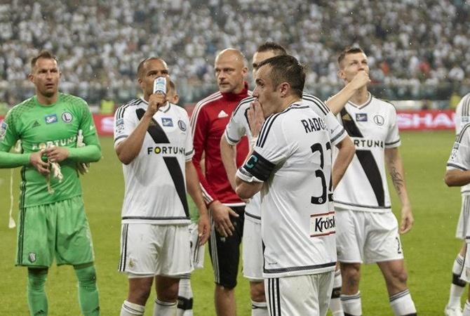 Фанаты «Легии» избили футболистов запоражение впринципиальном матче