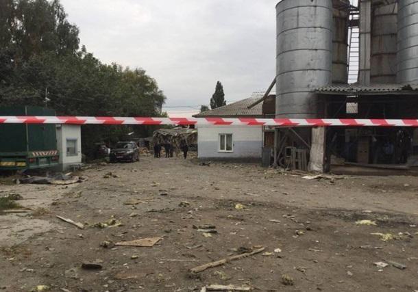 ВСумах произошел взрыв намакаронной фабрике