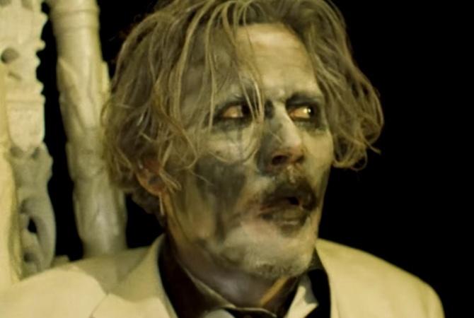 Артист Джонни Депп снялся вмузыкальном клипе Мэрилина Мэнсона