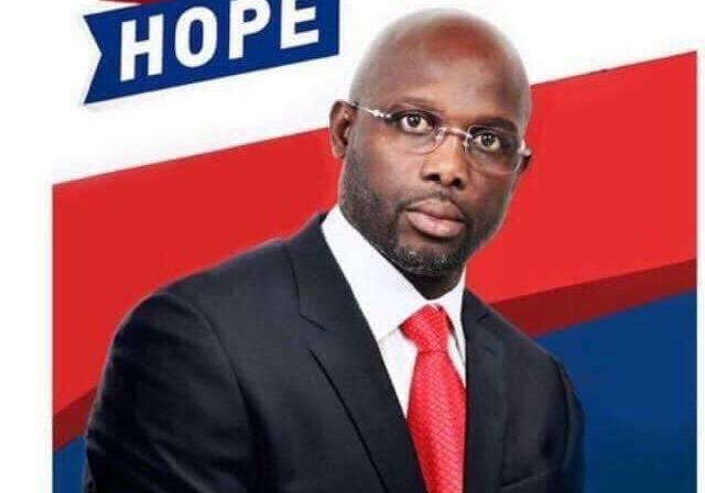 Известный  футболист Джордж Веа избран президентом Либерии