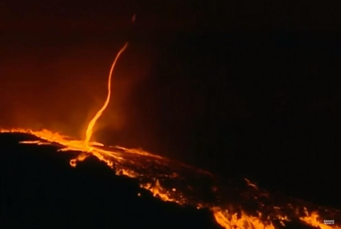 «Увидели дьявола»: необычное явление сняли навидео вПортугалии