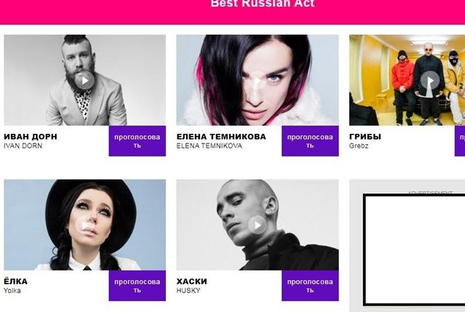 e80b82ffdfb0 ... MTV Europe Music Awards украинских исполнителей Ивана Дорна, Елку и  группу