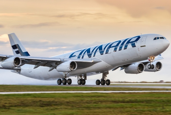Пятница 13: Finnair полетела вHEL рейсом 666