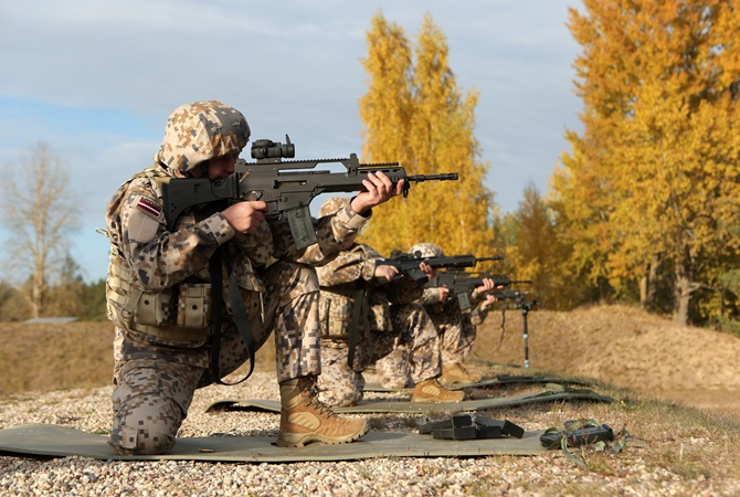 Командующий латвийской армией поведал о выгоде солдат НАТО для экономики