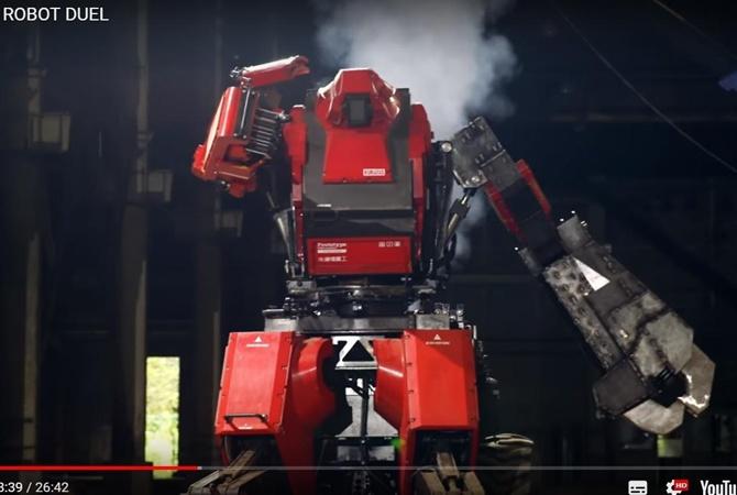 ТОП-5 человекоподобных роботов картинки
