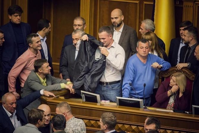 Геращенко— Левченко: подтираться будете втуалете, где шашки поджигали