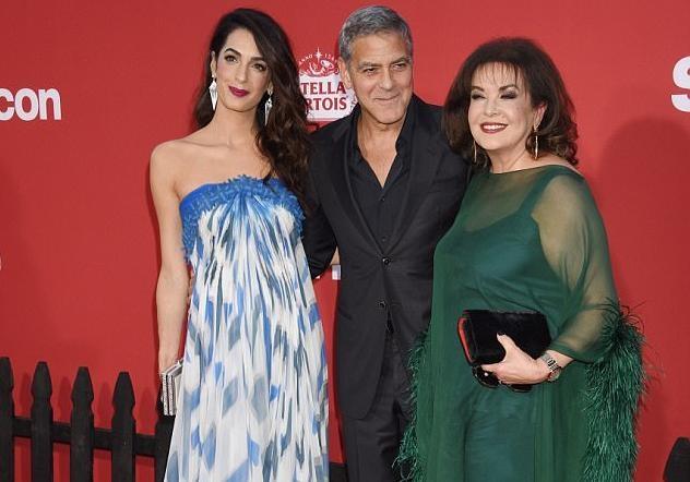 Джордж иАмаль Клуни пришли напремьеру «Субурбикона» смамой Амаль