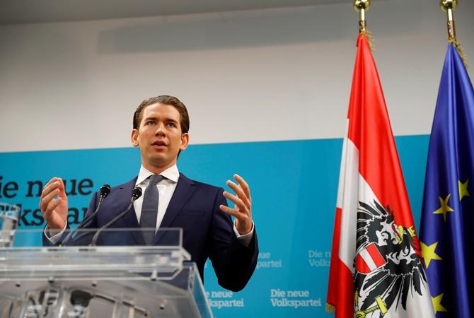 Новое руководство Австрии: Курц хочет сделать коалицию справыми популистами