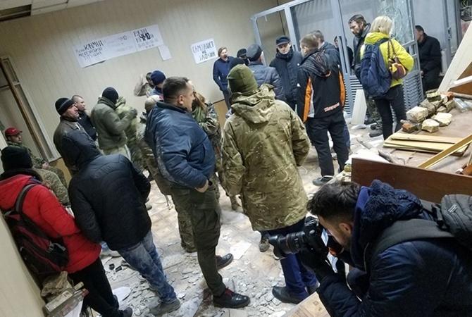 Милиция передала о сомнении 6-ти участникам столкновения ссиловиками вСвятошинском суде
