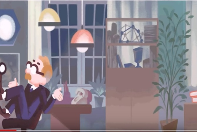 Google создал дудл вчесть 40-летия «Служебного романа»