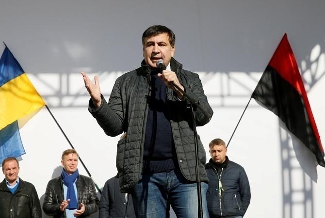 Саакашвили: Мынеможем вечно стоять под Радой