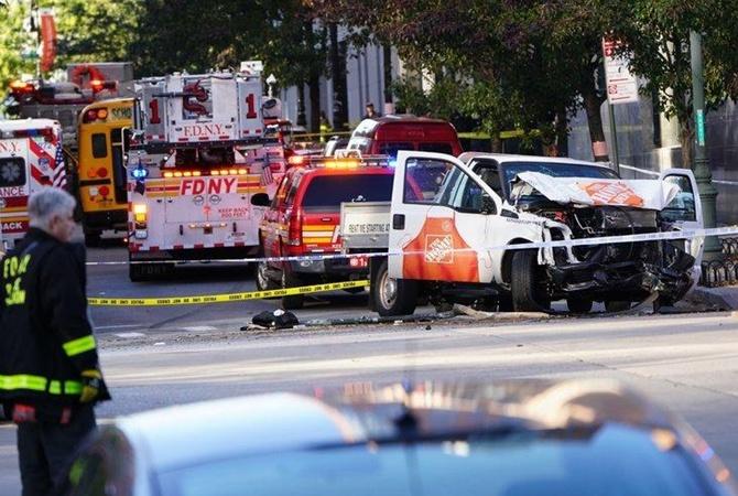 Есть жертвы  ираненые— Теракт наМанхэттене